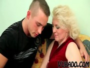 old blond milf bonks young man !!