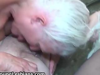 bizarre grandma having lesbian sex part0