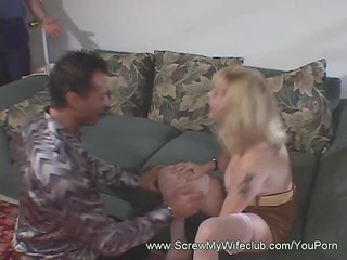 filthy wife pounded with a giant pounder