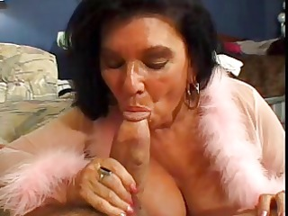hairy old floozy arse drilled