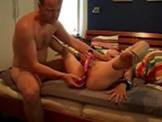 asian wife goes through all toy pleasures