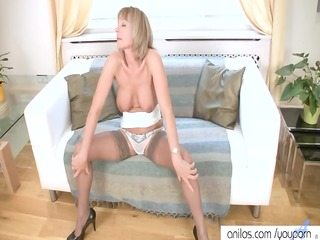 sexy aged has rubbing big o