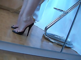aged feet