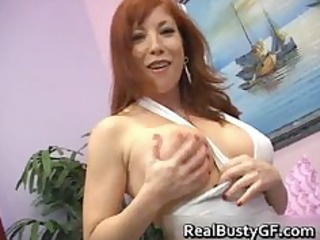 fiery redhead mommy with bigboobs engulfing part11