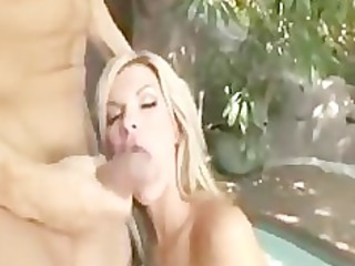 sexy blonde non-professional d like to fuck
