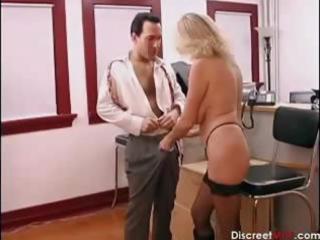 hawt older secretary seducing younger boss