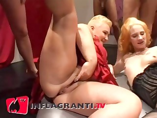 german bbw double fist whilst group see