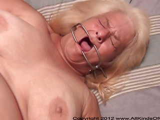 Pov anal 60 year old granny wanda gets tied