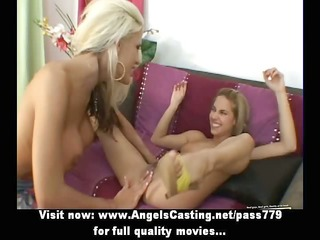 blameless lesbian dolls fingering and licked fur
