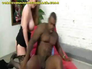 black creampie in blonde mamma