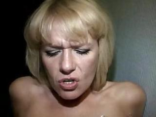 German blonde milf dquirting orgasm