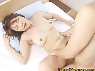 horny japanese aged babes engulfing