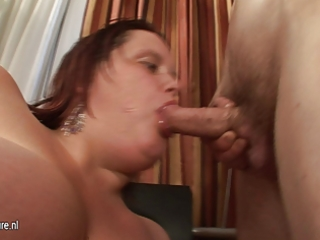 large titted mother engulfing her wazoo off