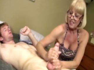 giving granny is giving a schlong massage