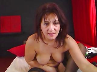 Hairy romanian mature