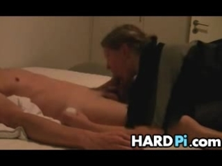 big beautiful woman wife gives oral-sex and cook