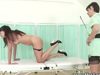 mistresse spanks her slaves s garb gazoo