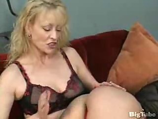 two older lesbian babes take up with the tongue