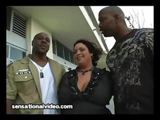 large tit latina wife copulates 6 large dark cocks