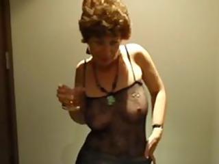 drunk milf drunk horny british granny