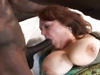 aged mature with big milk shakes acquires banged