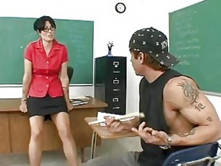 horny older teacher pounded after class