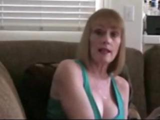 busty aged blonde gives a hawt point of view blow