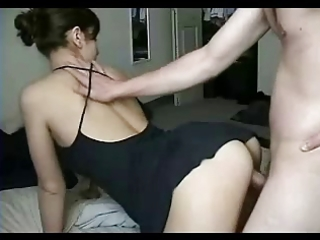 bf &; wife from behind in hotel