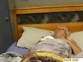 overweight mature copulates the massage lad