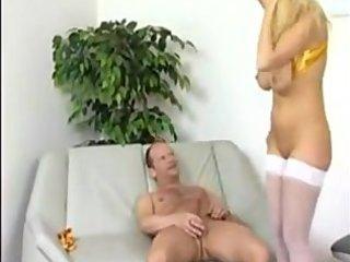 blond mamma copulates like a whore in heat