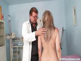 aged alena gyno snatch real clinic scrutiny