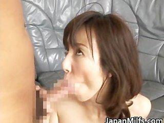 exceedingly excited japanese milfs sucking part3