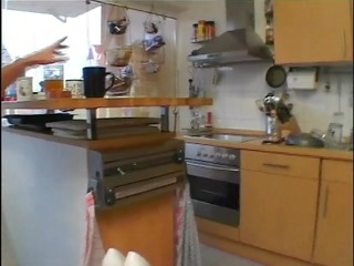 fucking the d like to fuck in the kitchen - julia