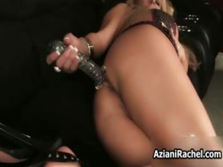excited busty milf goes crazy sextoy part1