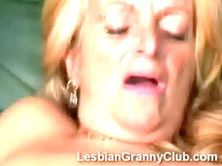 redheaded granny nylons takes care of old large