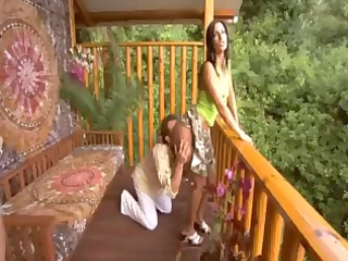 sonia and simone share a cock