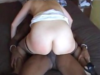 wife thug fuck darksome swarthy cumshots ebon