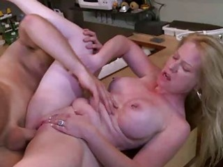 blond mother i hardcore riding