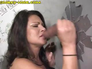 naughty d like to fuck brunette hair sucks off a