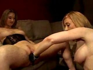 older lesbian babes into fetish glove love tunnel