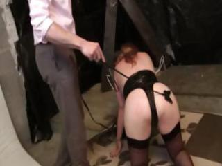 he is punished diane his bbw wife with a group-sex
