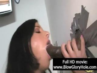 gloryhole - hawt breasty babes love sucking wang