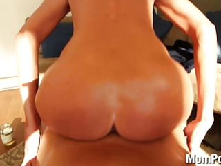 horny blond mother i swallows cum