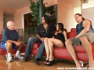 hubby watched wife got choked with a large hard