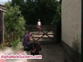 Butch grand gets rimmed by aitor crash part3