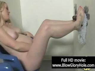 gloryhole - sexy busty honeys love engulfing cock