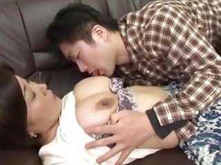 drunk japanese mother receives abase by her chap