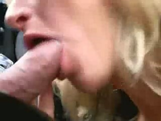 perverted milf fuck in her car