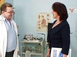 shaggy fur pie grandma visits pervy woman doctor