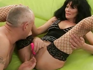 sexy grandma getting drilled hard